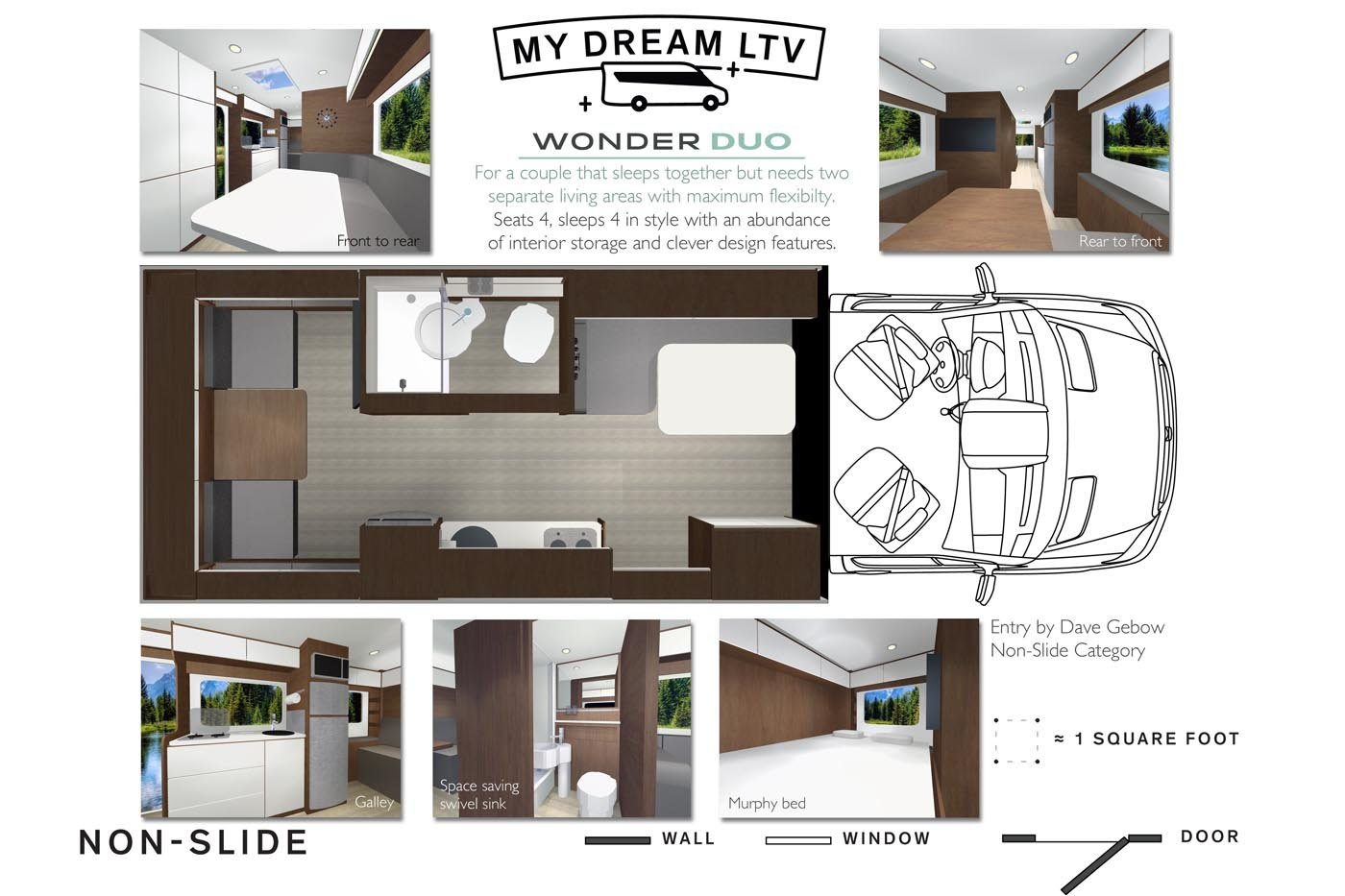 My Dream Ltv Floorplan Contest