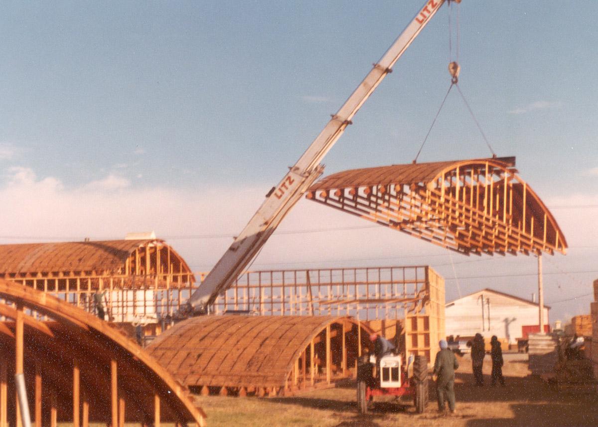 Triple E's factory rebuilding
