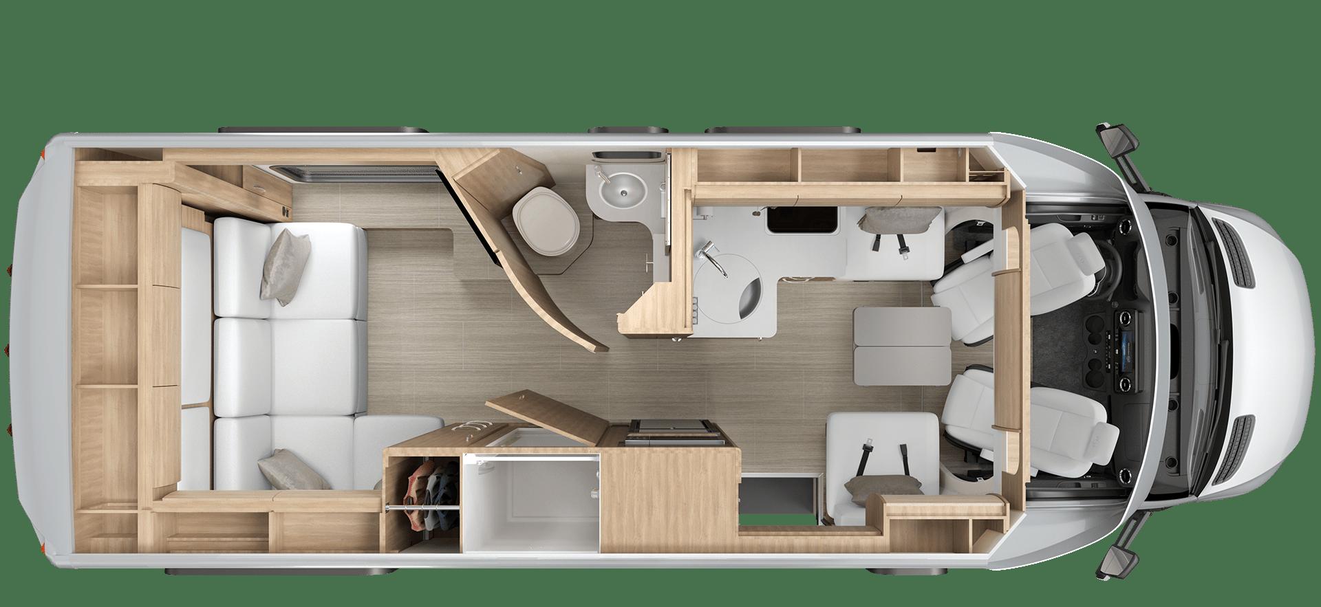 Unity RL Floorplan
