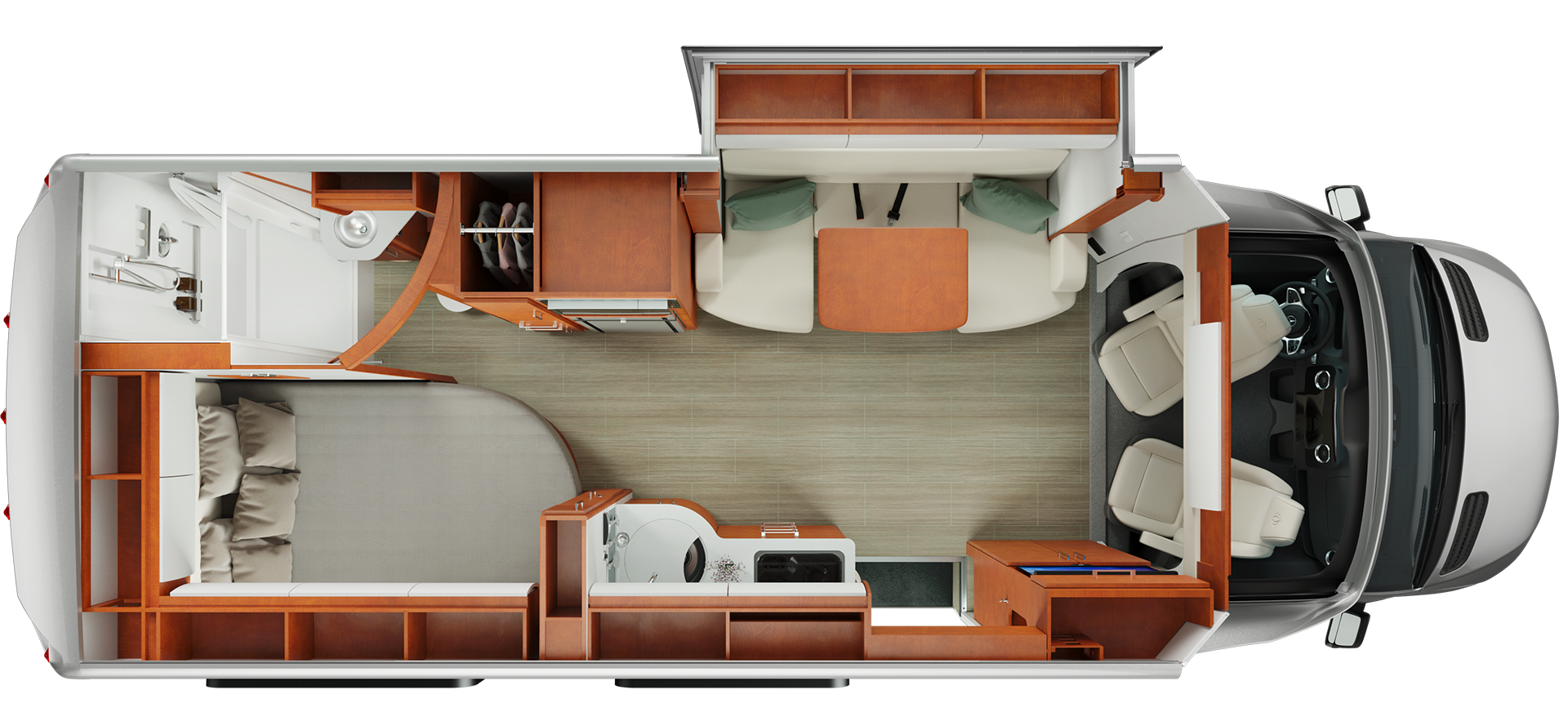 Mercedes Sprinter Floor Plan: Mercedes Sprinter Motorhome Floor Plan