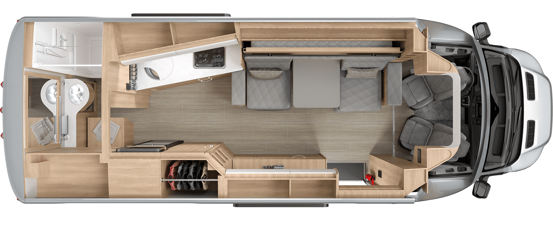 Wonder Murphy Bed Floorplan