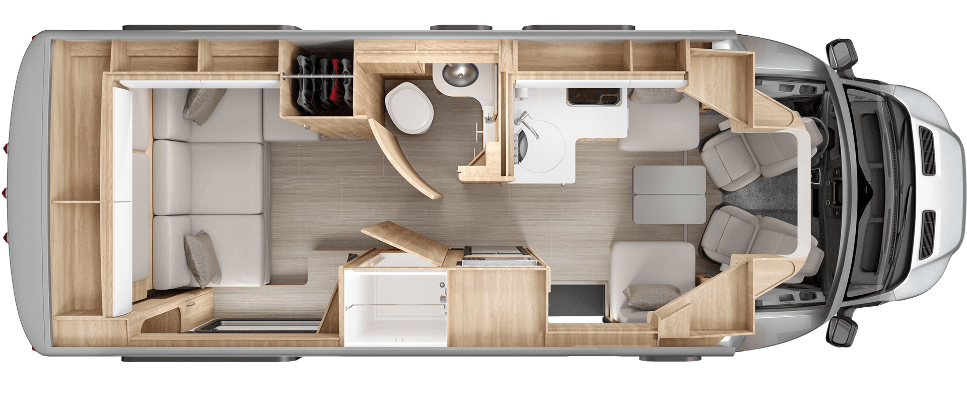 Wonder Rear Lounge Floorplan