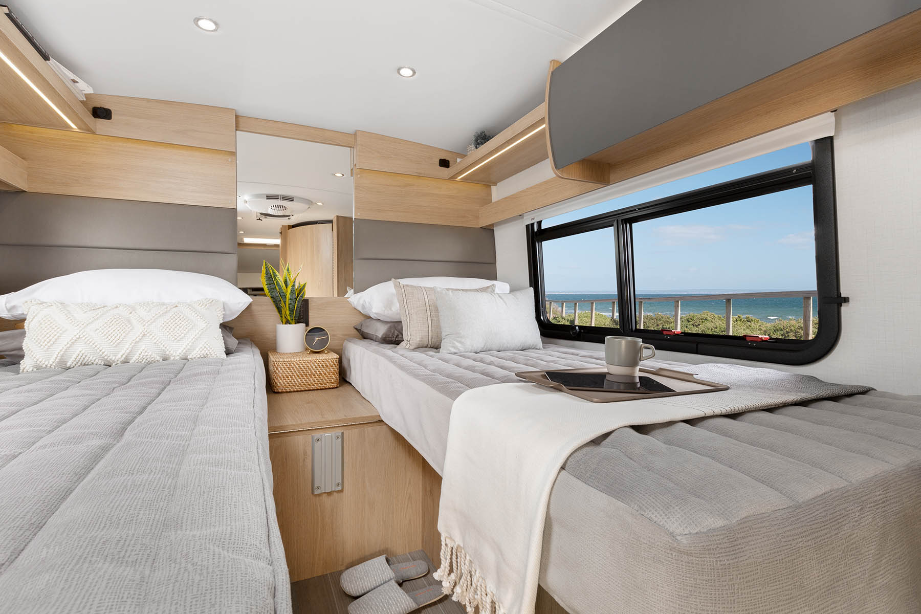Rear Twin Beds
