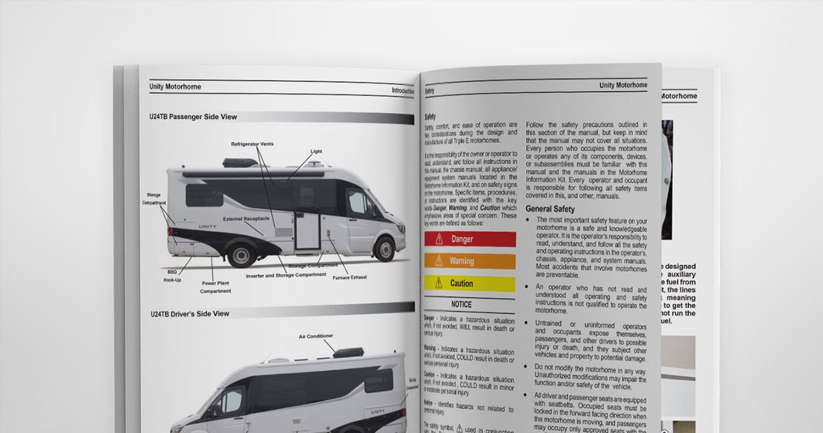 Owner's Manuals - Leisure Travel Vans