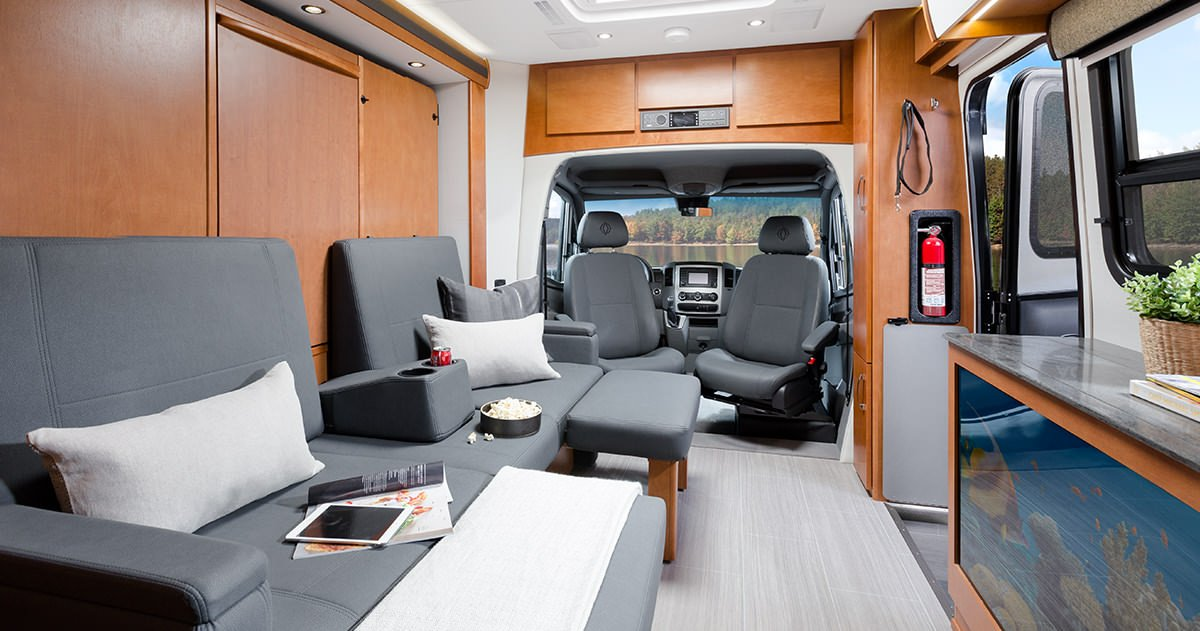 Unity Features Murphy Bed Leisure Travel Vans
