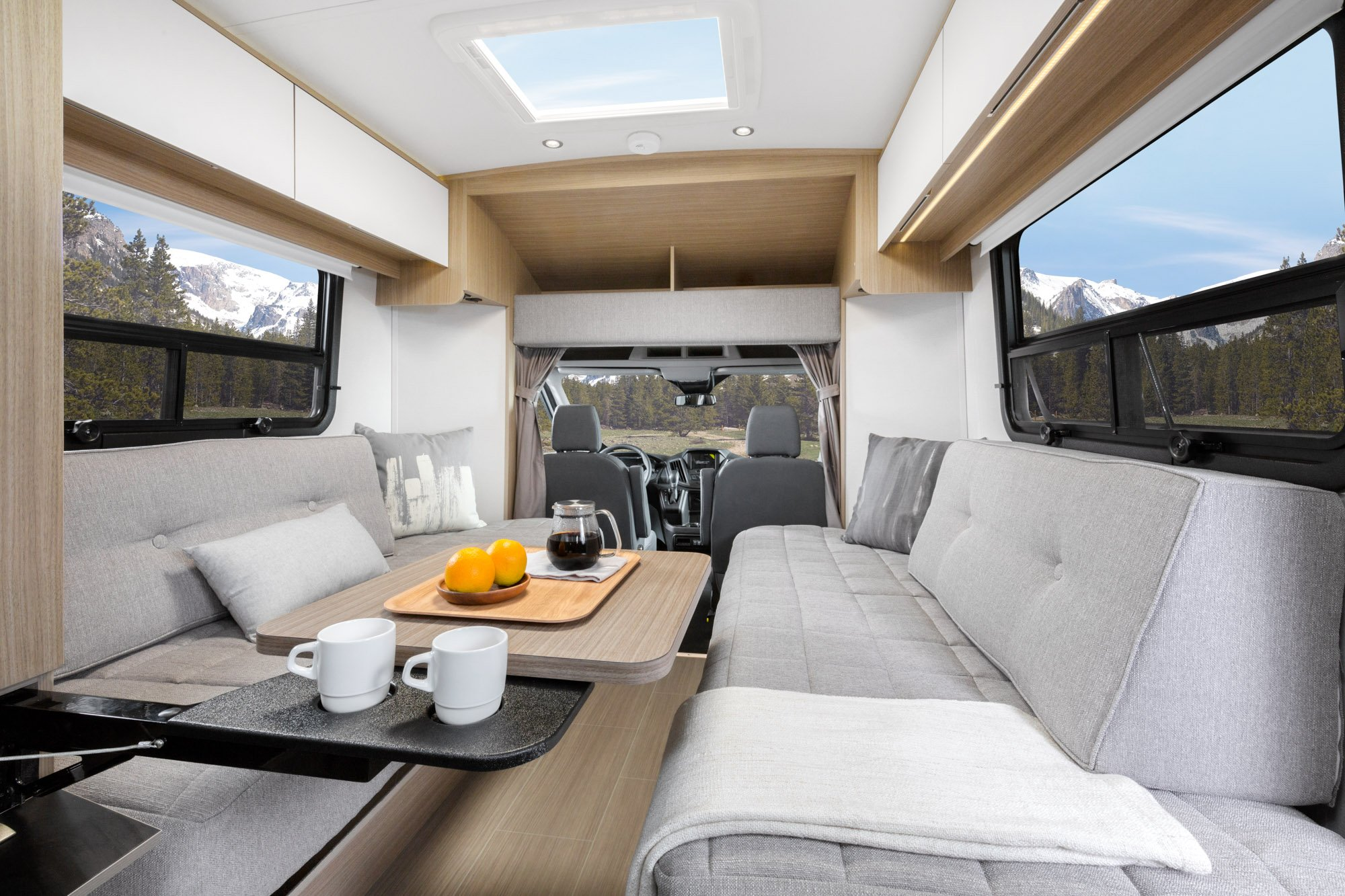 Adds A New Innovative Twin Bed Model To The Wonder Lineup Revolutionary RV With European Interior Styling Built On North American Ford