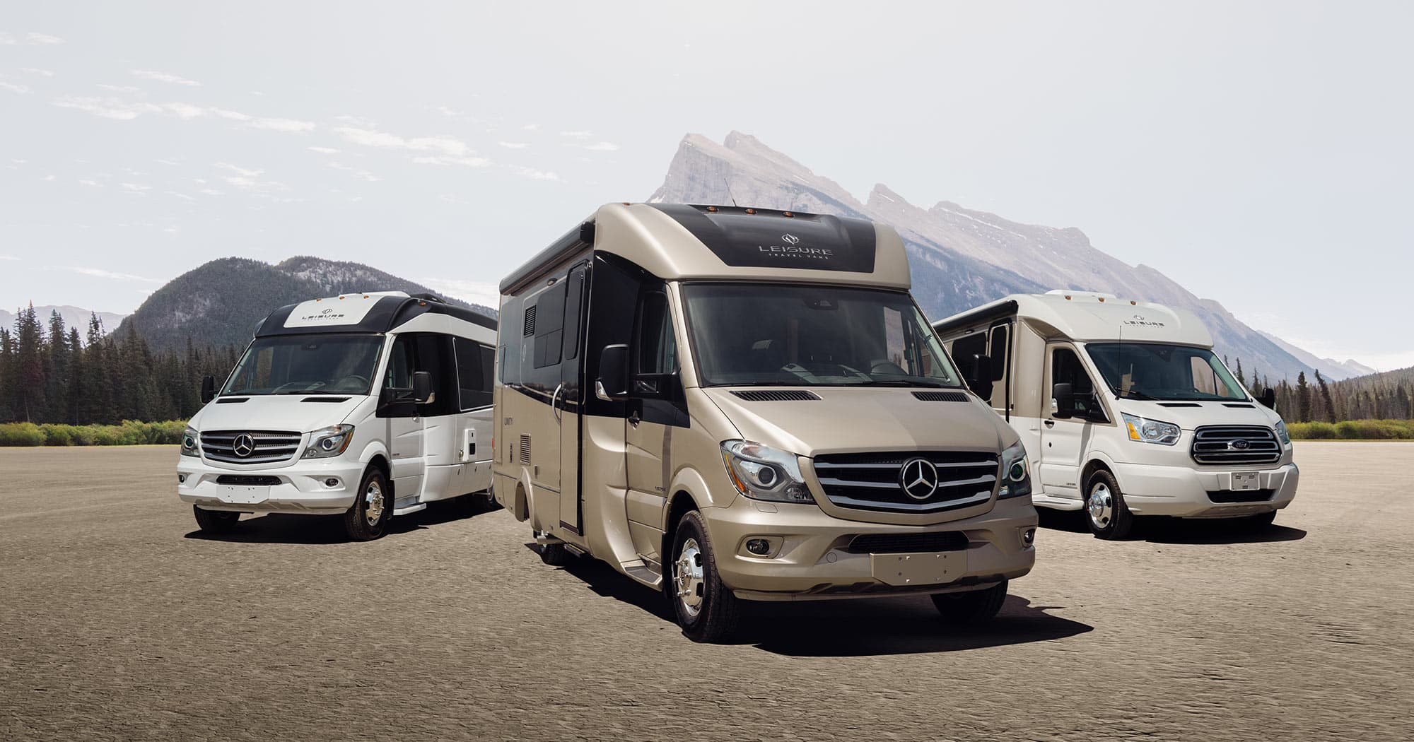 Compare Models - Leisure Travel Vans