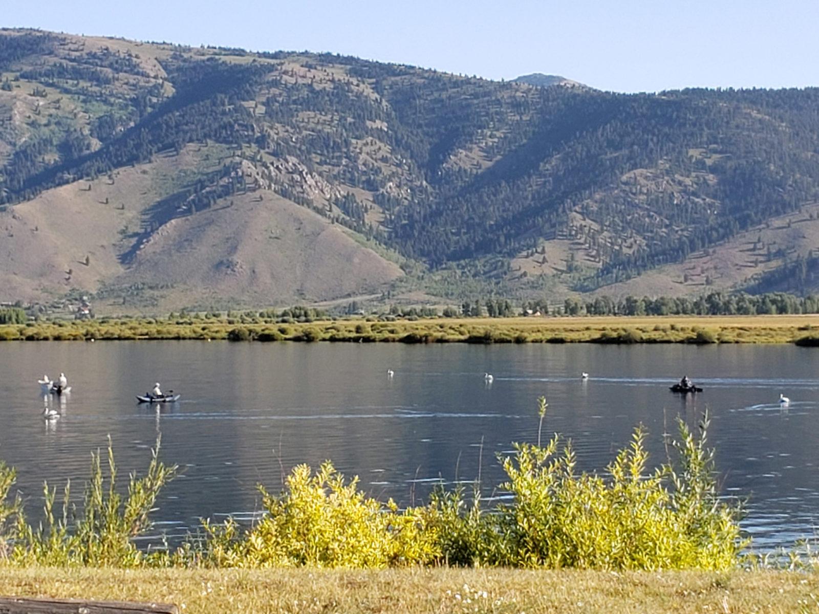 Henry's Lake in Idaho