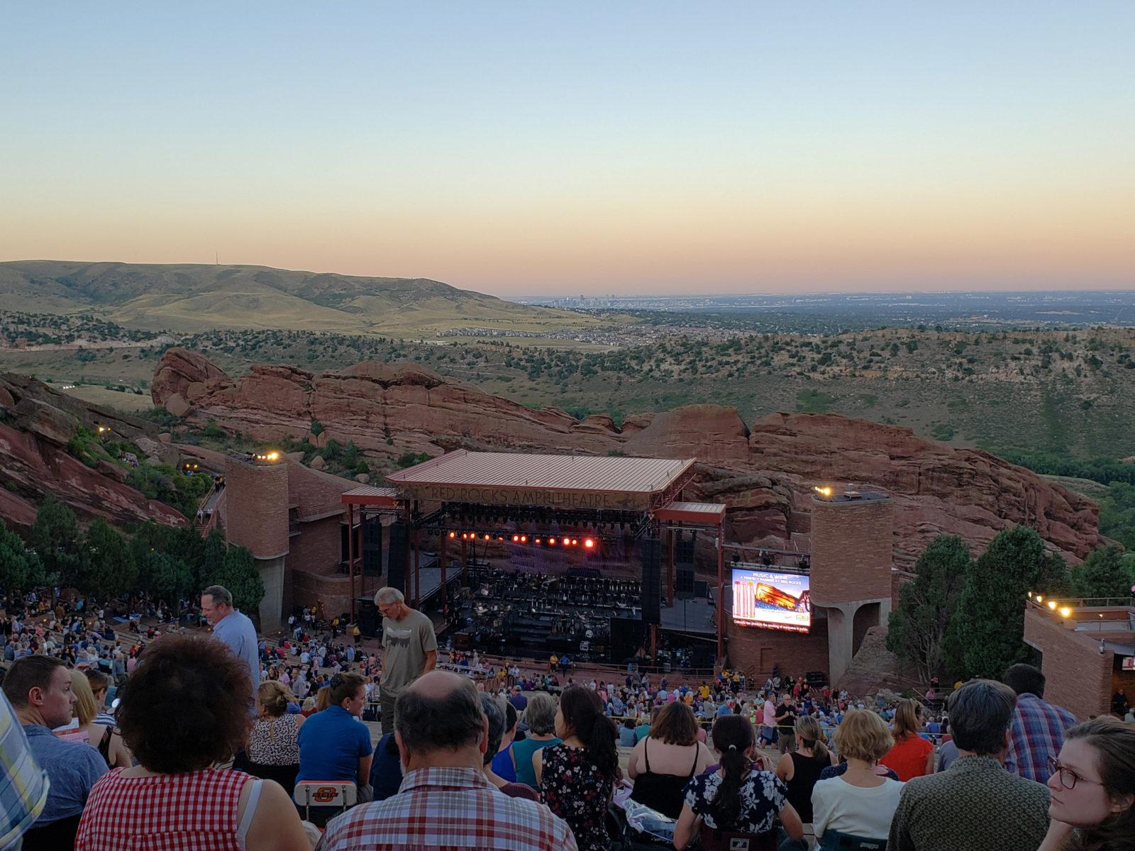 Red Rocks Amphitheatre near Denver