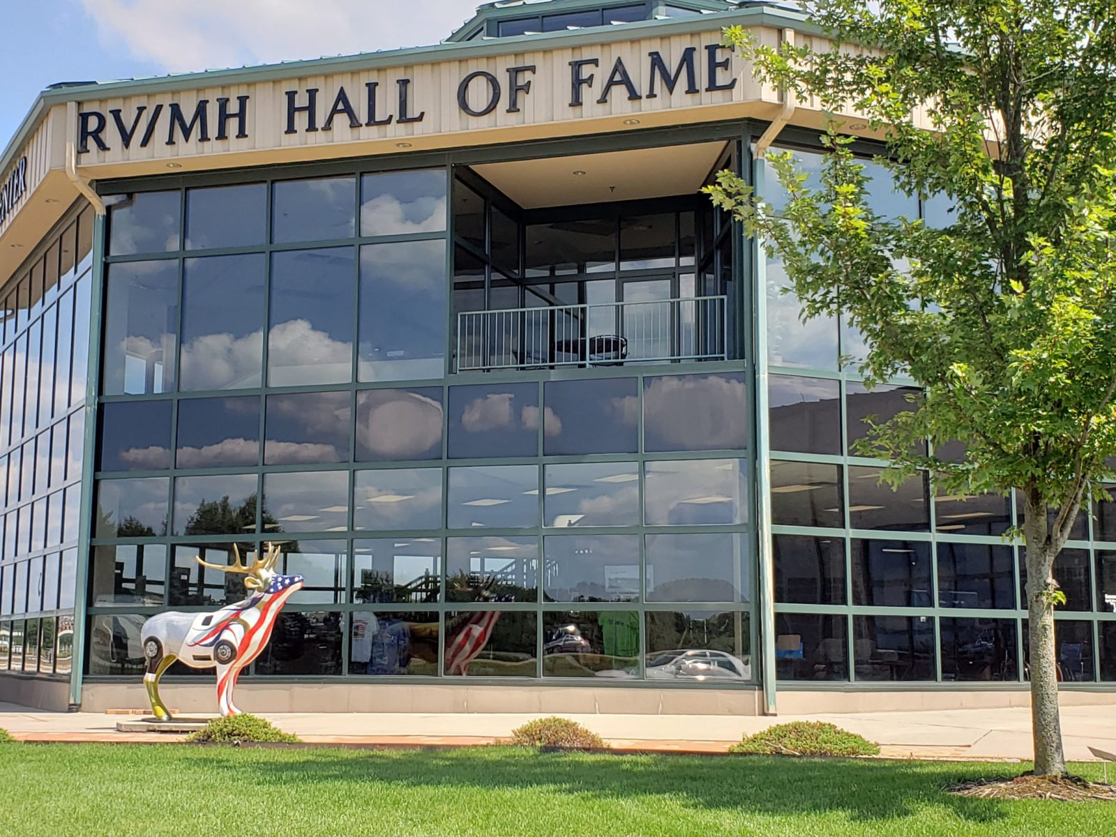 RV museum and hall of fame in Elkhart, Indiana