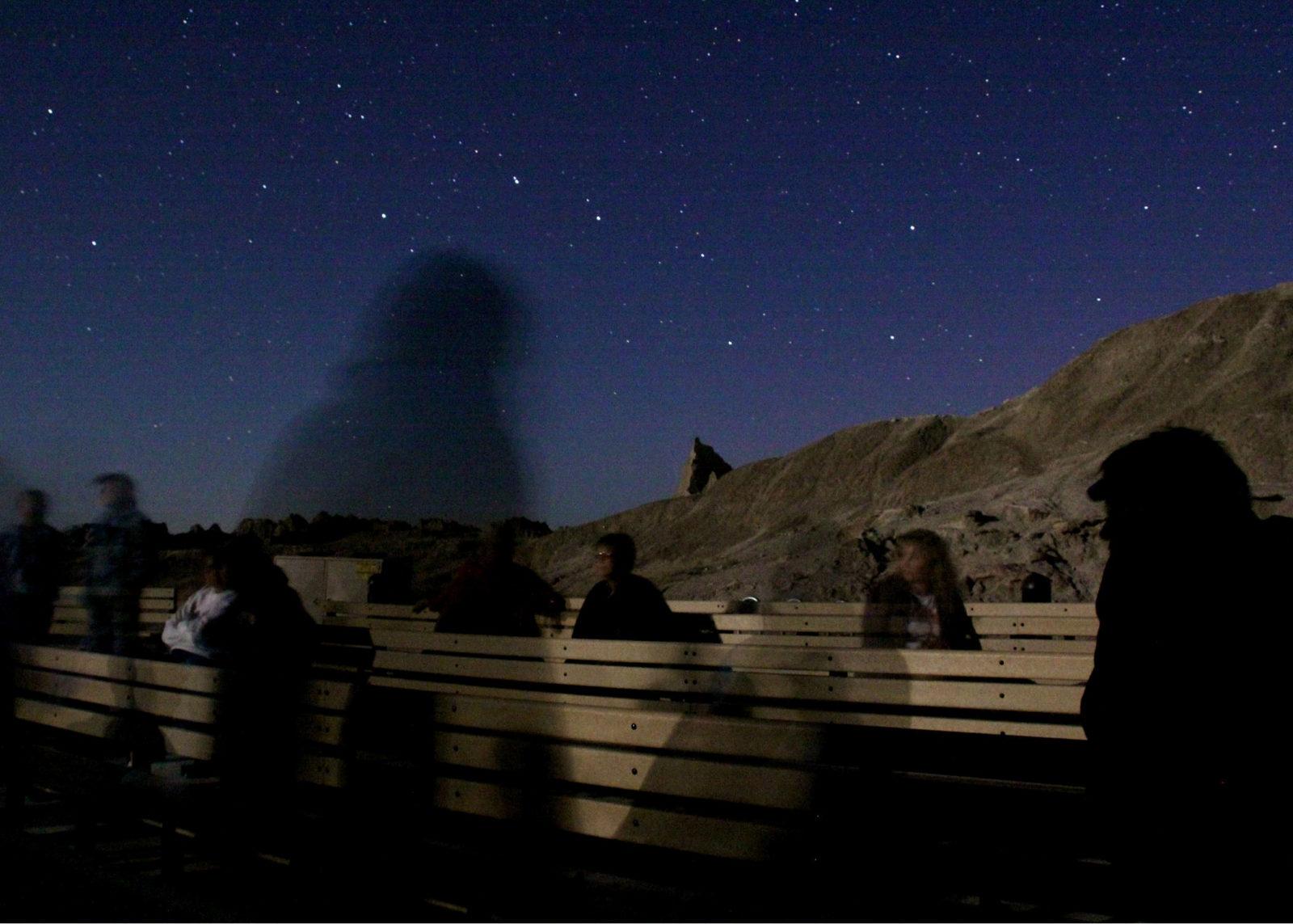 night sky ranger program at badlands national park