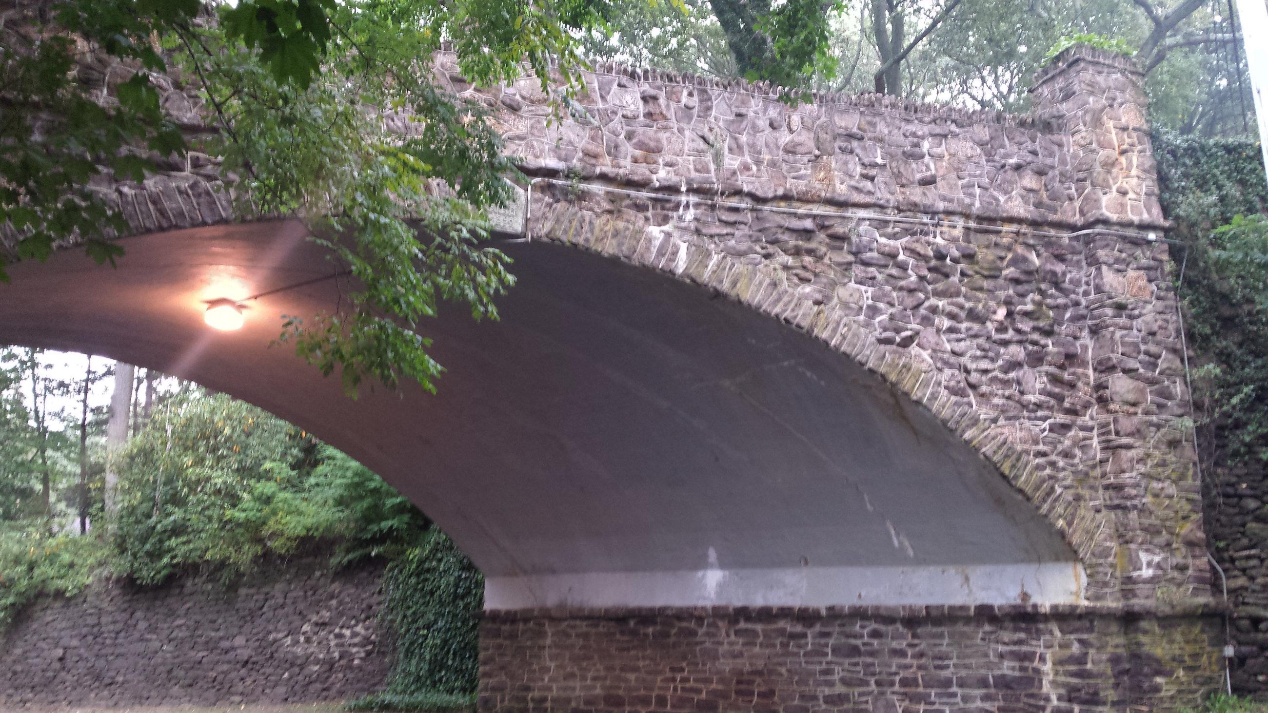 old stone bridge in atlantic highlands new jersey
