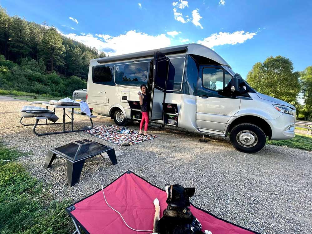 Leisure Travel Van in Pagosa Springs Colorado